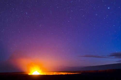 キラウエア火山観光(星空観測付き)