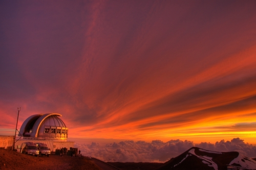【マウナケア山頂】夕陽&星空