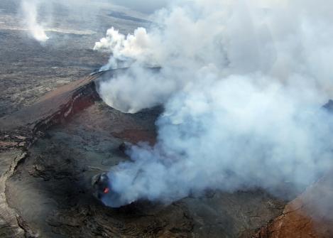 火山観光(ヘリコプター)