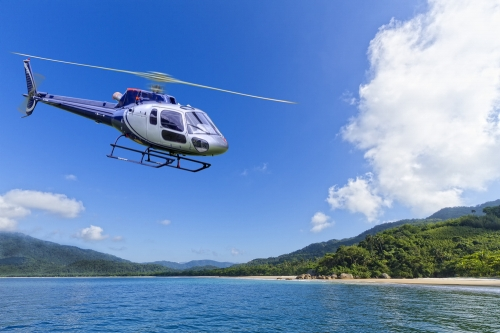空からの観光(ヘリコプター)