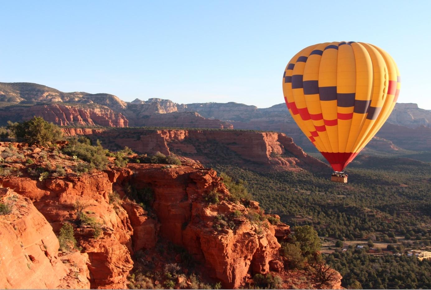 熱気球の旅