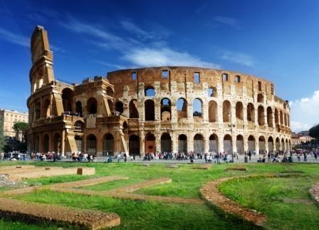 ローマ市内午前半日観光