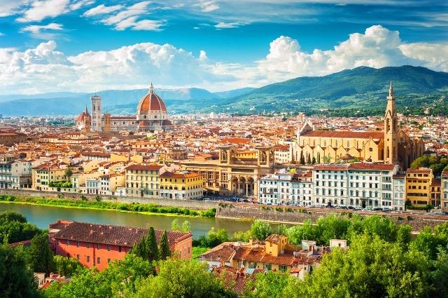 フィレンツェ、ピサの斜塔