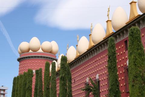 ダリ美術館、ジローナ、カダゲス