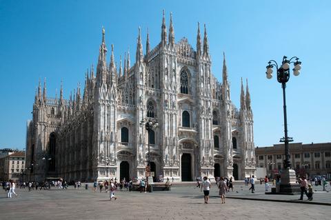 ミラノ市内観光