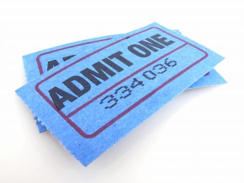 美術館、入場・入園チケット