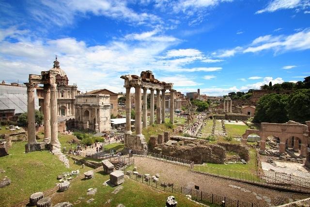 ローマ市内午後半日観光