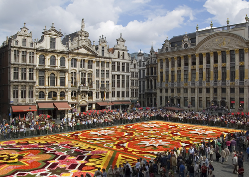 ロンドン発ブリュッセル観光(ベルギー)