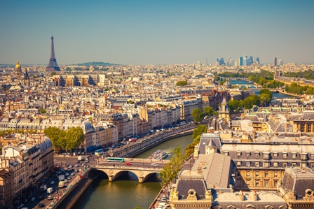 パリ市内観光(終日)