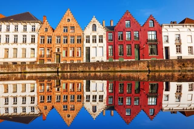 パリ発ブルージュ(ベルギー)を訪れるツアー