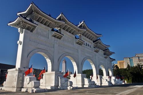 台北半日市内観光