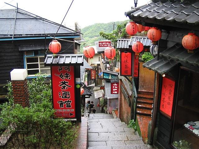 九ふん(レトロな風情溢れる街)