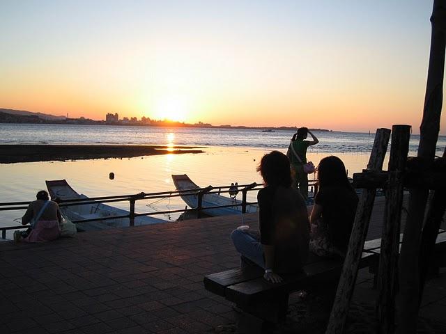 水辺の町・淡水(タンスイ)