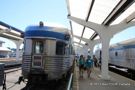 VIA鉄道の旅