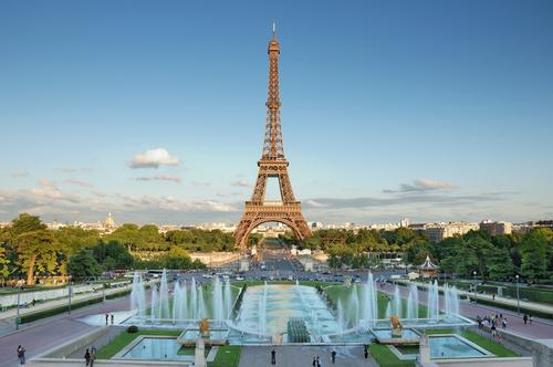 パリへの移動