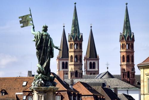 ヴュルツブルク市内観光