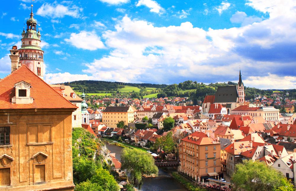 チェスキークルムロフ観光(チェコ共和国)