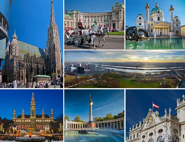 ウィーンへ移動するツアー