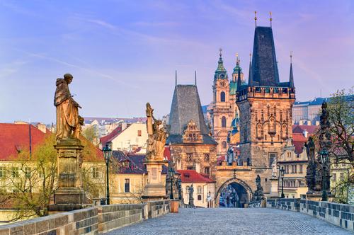 プラハ、チェスキー・クルムロフ・観光(チェコ共和国)