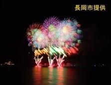 【8月15日限定!】真珠湾での長岡花火