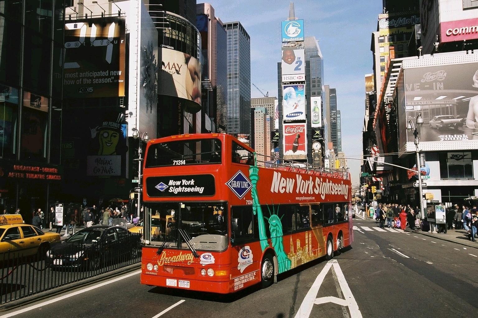 バス利用の市内観光