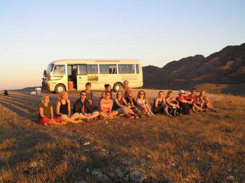 2日間のキャンプツアー