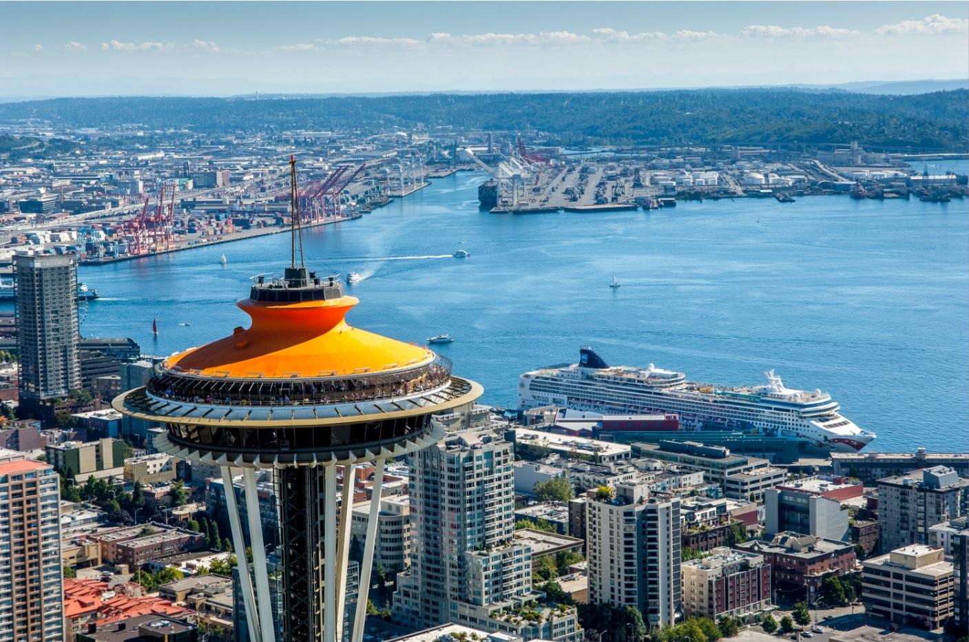 シアトル市内観光