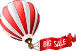 気球セール