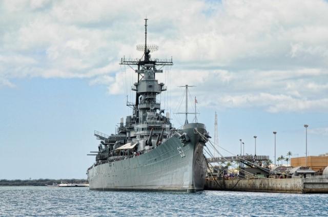 真珠湾観光 (アリゾナ・メモリアル&戦艦ミズーリ見学)