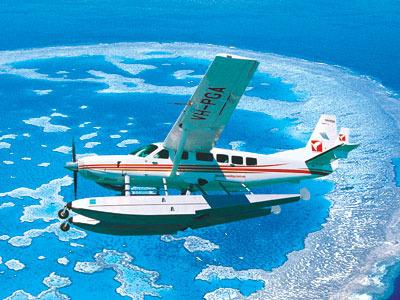 水上飛行 パノラマツアー