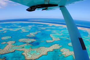 水上飛行リーフアドベンチャーフライトツアー