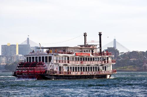 パドル&ホウィール(蒸気船) ツアー