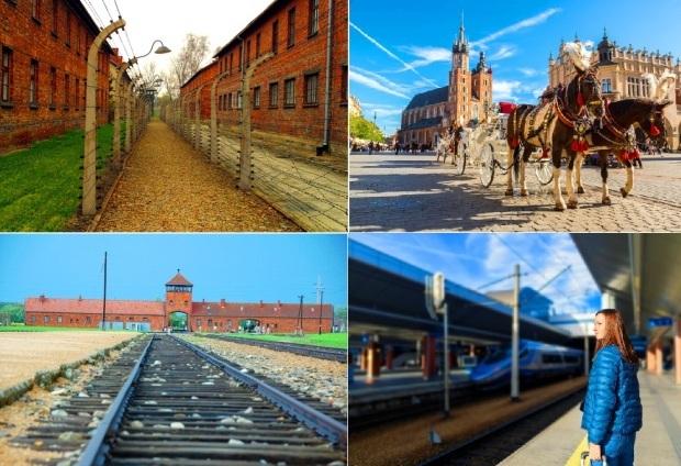 アウシュビッツ強制収容所とクラクフ1日観光