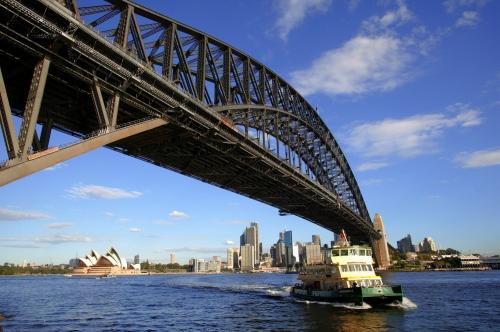 シドニー市内半日観光(世界遺産オペラハウスとシドニーハーバーパノラマ観光)