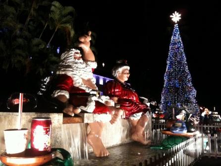 【期間限定】穴場ハワイの「クリスマス・シティ・ライツ」タンタラスと別腹ツアー