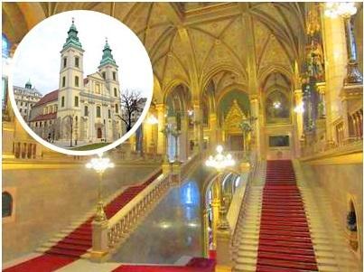 [みゅう]国会議事堂見学と城郭都市ペストの歴史探訪