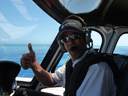ヘリコプター2大世界遺産遊覧飛行 グレートバリアリーフ&レインフォレスト 60分エクスプローラー