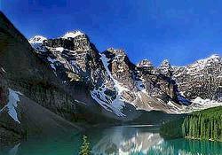 モレーン湖とヨーホー国立公園観光