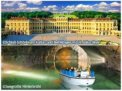 [みゅう]《お得なセット価格》1日で 見どころ網羅 ウィーン市内とシェーンブルン宮殿 午前観光&ウィーンの森 午後観光
