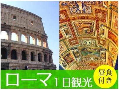 [みゅう]ローマ観光決定版! コロッセオ&真実の口&ヴァチカン美術館すべて入場1日観光 昼食付