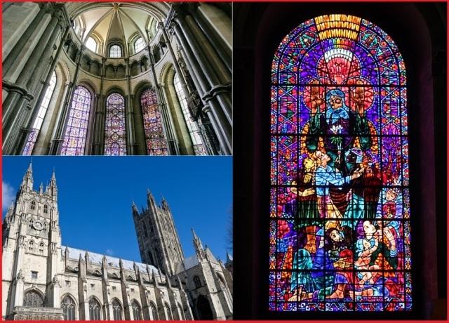 12月25日限定:カンタベリー大聖堂でのクリスマス、ケントと祝賀ランチ・ツアー(英語)