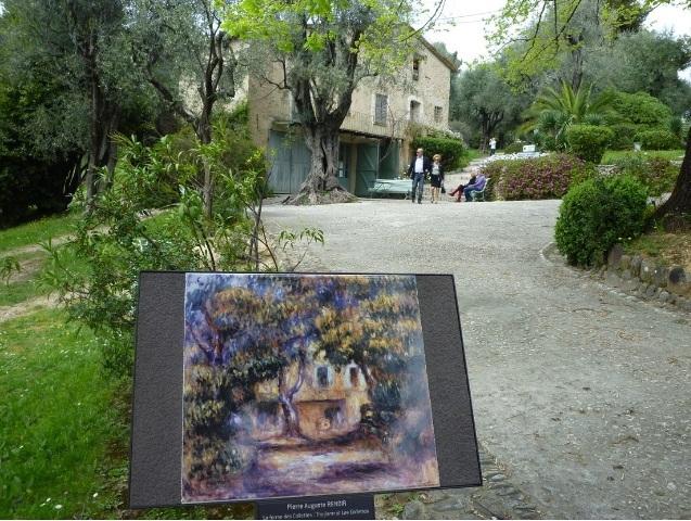 (芸術家が愛した風景と美術館を巡る)アンティーブ・グラース・サンポール・ロザリオ礼拝堂・ルノワールの家