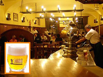 [みゅう]プラハの夜はビヤホールで乾杯!