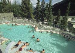 バンフ温泉とディナーツアー