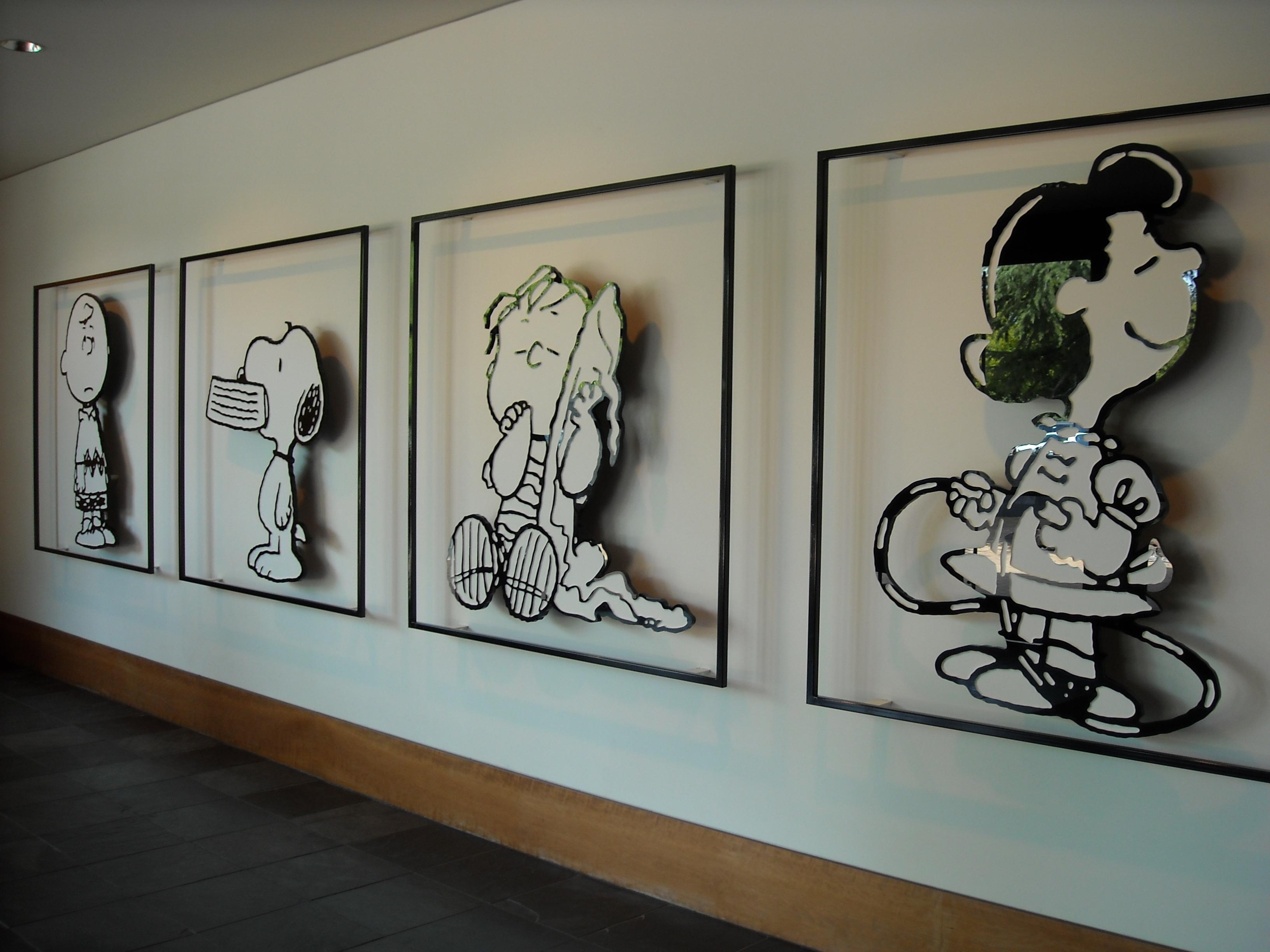 スヌーピー博物館とアウトレットツアー