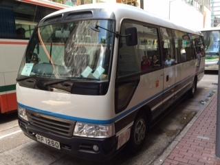 香港市内24人乗りマイクロバスチャーター