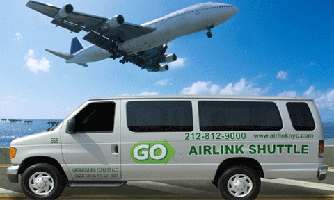 JFK, EWR, LGA空港送迎 【混乗 英語ドライバー】 (ホテル→空港) *簡単な英会話力要*