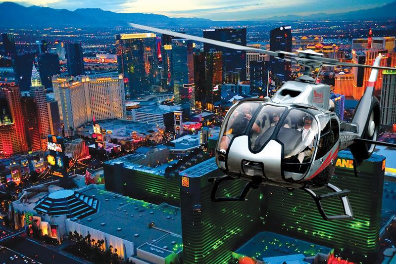 ヘリコプター&ディナー