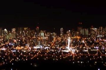 タンタラスの丘 サンセット&夜景鑑賞ツアー*金曜日はヒルトン花火付き♪