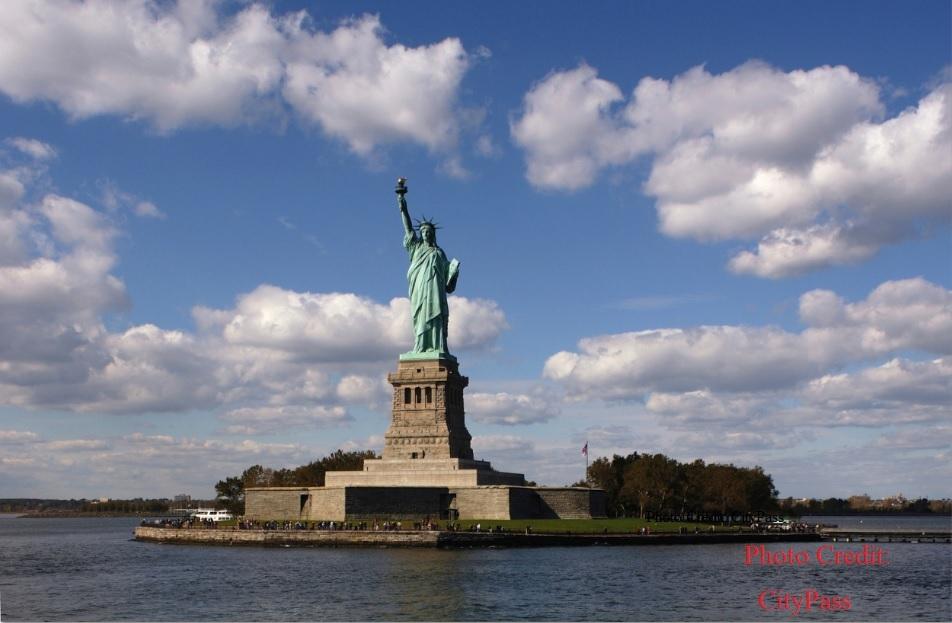 ニューヨーク1日市内観光 *自由の女神 クルーズ付き!*